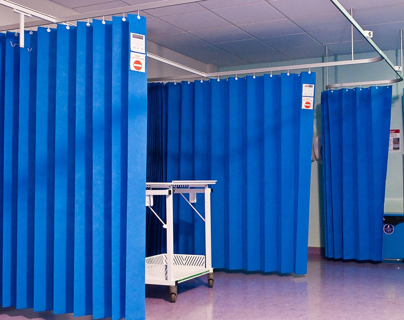 Curtains Ideas vinyl curtains : Cubicle Medical Curtain - ASRO Singapore